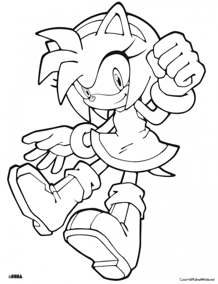 Sonic Coloring Pages Free Printable   679151
