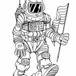 Space Coloring Pages Adults Printable   ARD48