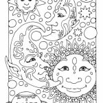 Space Coloring Pages Adults Printable   OGH32