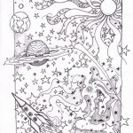 Space Coloring Pages for Adults   FDZ77