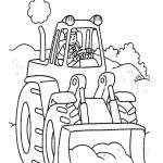Tractor Coloring Pages Free Printable   68103