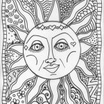 Trippy Coloring Pages for Adults   TF79N