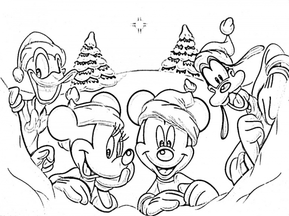 Get This Winter Coloring Pages Free Printable 595982
