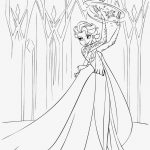 Disney Queen Elsa Coloring Pages Frozen - ABXT18