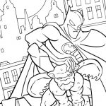 Free Printable Batman Coloring Pages DC Superhero - 45193