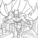 Free Printable Batman Coloring Pages DC Superhero - 75291