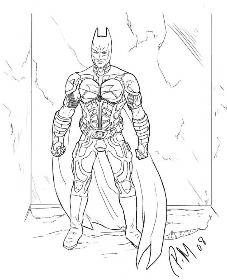 Get This Free Printable Batman