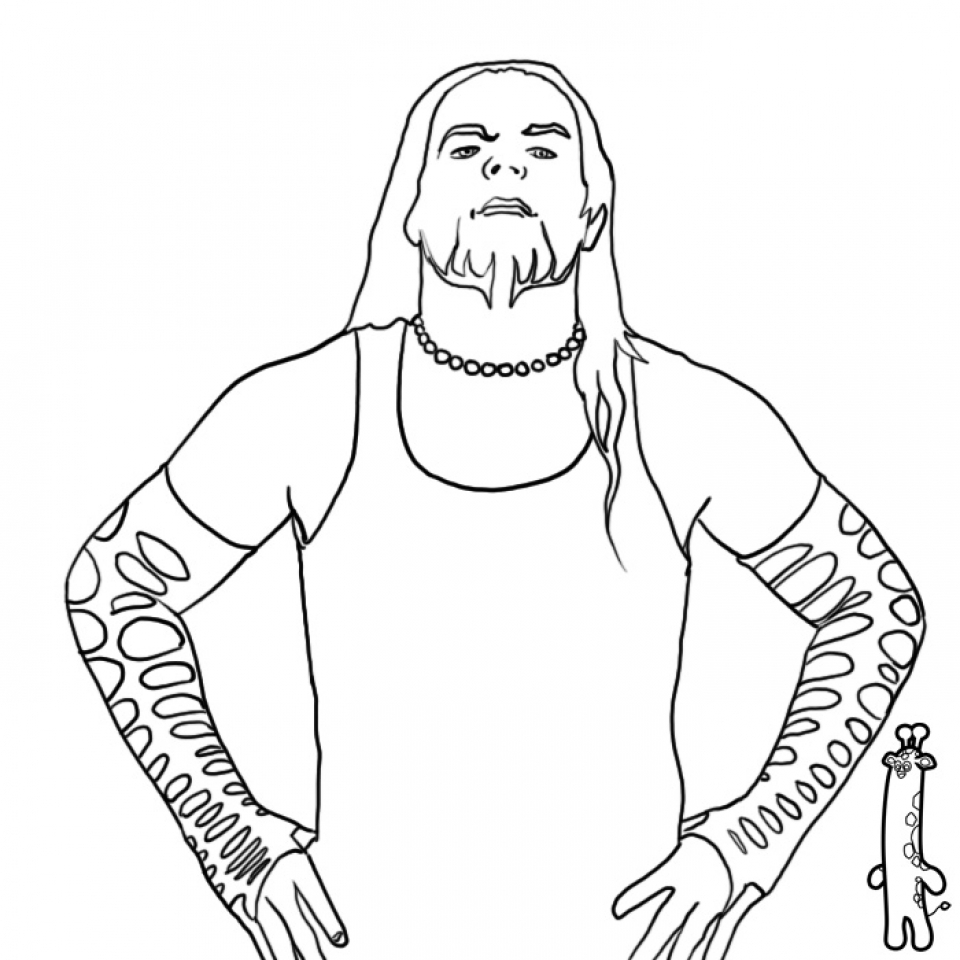 Triple h coloring pages - 12 Pics Of Wwe Triple H Coloring Pages Triple H Coloring Pages