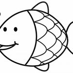 Printable Rainbow Fish Coloring Sheets for Kids   6DVE4