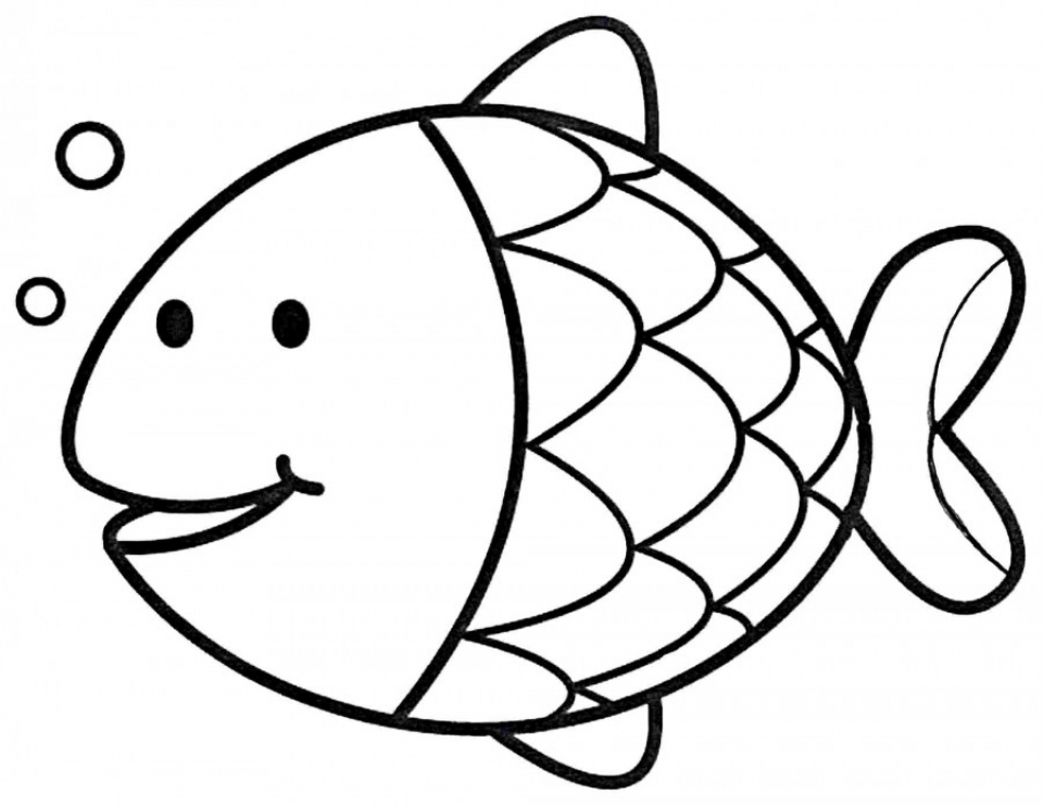 Get Printable Rainbow Fish Coloring Sheets Kids