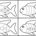 Printable Rainbow Fish Coloring Sheets for Kids   TAM4