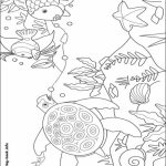 Rainbow Fish Coloring Pages   53418