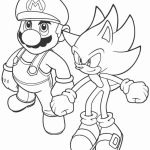 Sonic Coloring Pages for Kids   67382