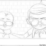 Boss Baby Free Printable Coloring Pages - 33717