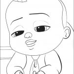 Boss Baby Free Printable Coloring Pages - 97521