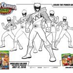 Power Ranger Dino Force Coloring Pages for Kids - 51173