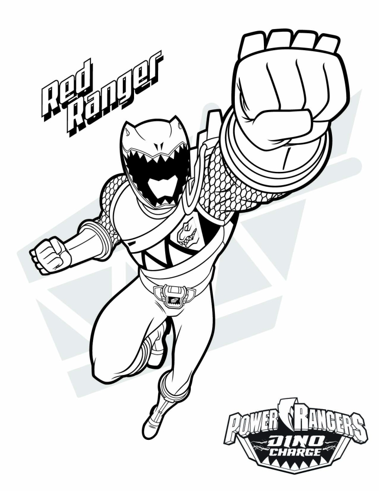 20  free printable power ranger dino charge coloring pages