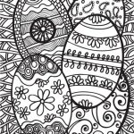 Adults Printable Easter Egg Coloring Pages   45516
