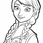 Disney Frozen Coloring Pages Princess Anna   37810