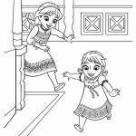 Disney Frozen Princess Anna Coloring Pages Free to Print   21276