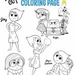 Disney Inside Out Coloring Pages Free to Print   46621