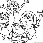 Disney Inside Out Coloring Pages Free to Print   50076