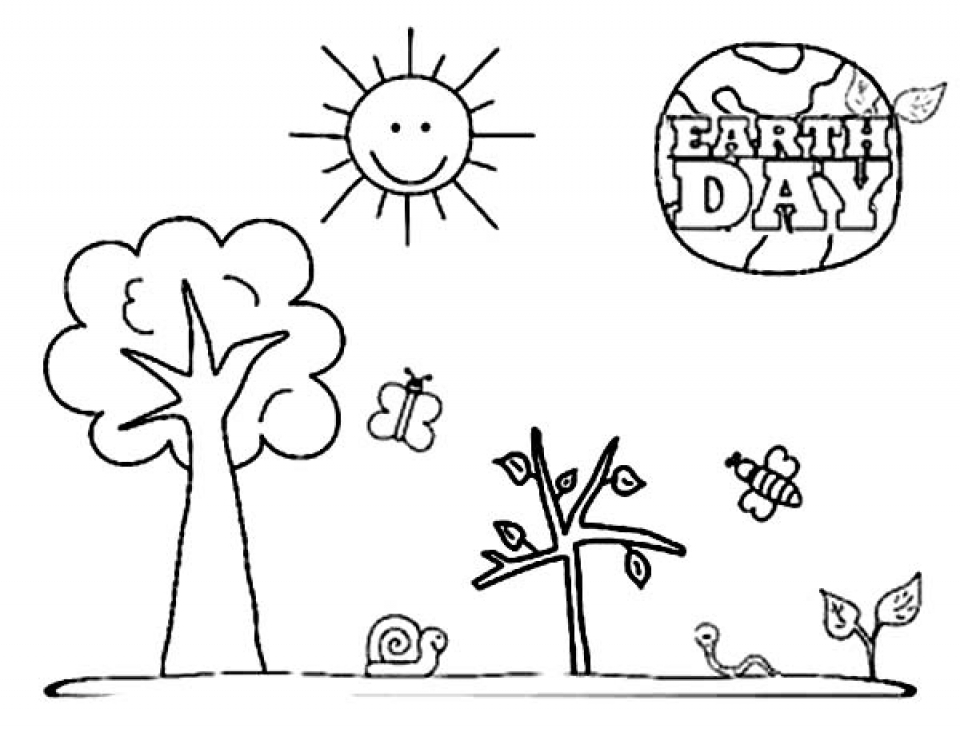 printable sday coloring pages   Get This Earth Day Free Printable Coloring Pages 41850