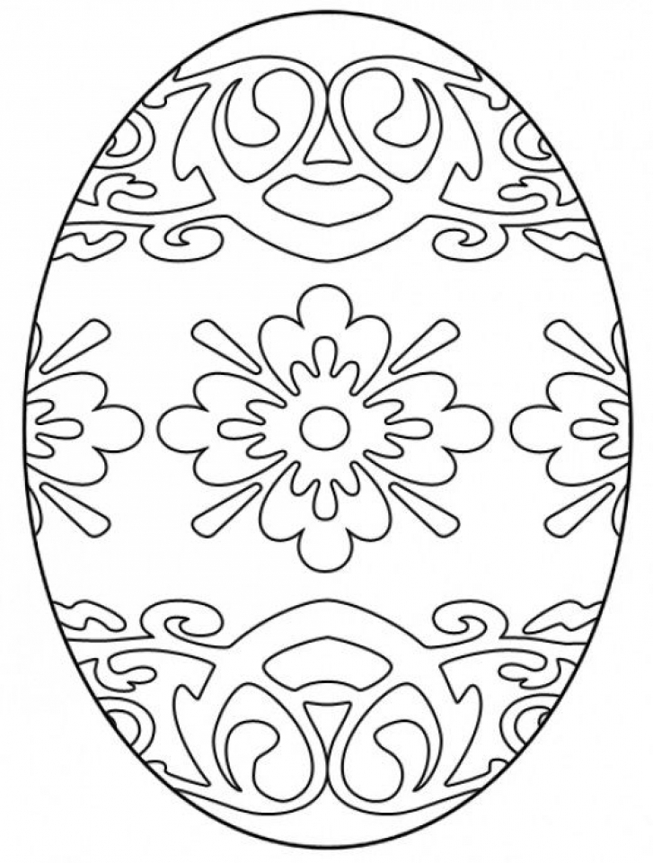 easter color pages free printable - get this easter egg hard coloring pages for adults 50018