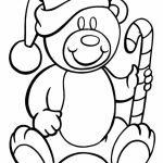 Free Candy Cane Coloring Page for Toddlers   54499
