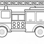 Free Fire Truck Coloring Page for Kids   81416
