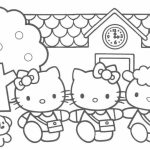 Free Kitty Coloring Pages for Kids   81407