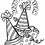 Free New Years Coloring Pages for Toddlers   54502