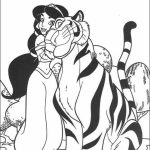 Free Preschool Jasmine Coloring Pages to Print   94518