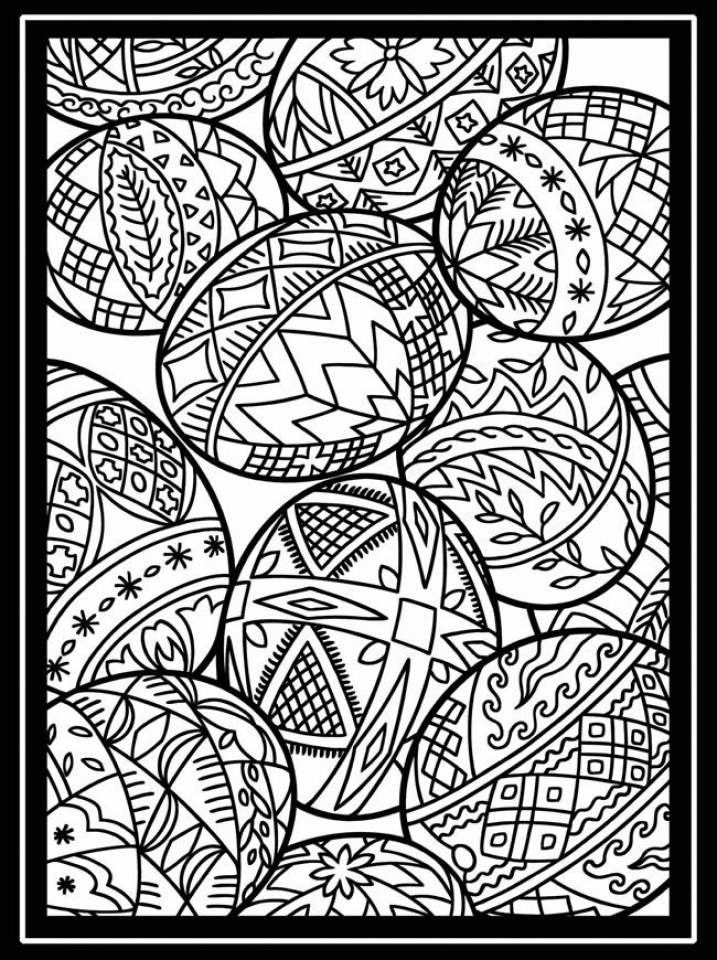 Get This Free Printable Easter Egg Coloring Pages for ...