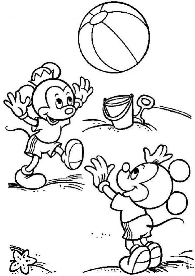 Free Summer Coloring Pages Online Printable   57290