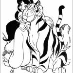 Jasmine Coloring Pages Online Printable   57986