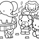Kitty Coloring Pages Online Printable   57983