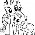 My Little Pony Friendship Is Magic Coloring Pages Online Printable   57984