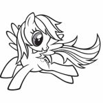 Online Rainbow Dash Coloring Pages to Print   58047