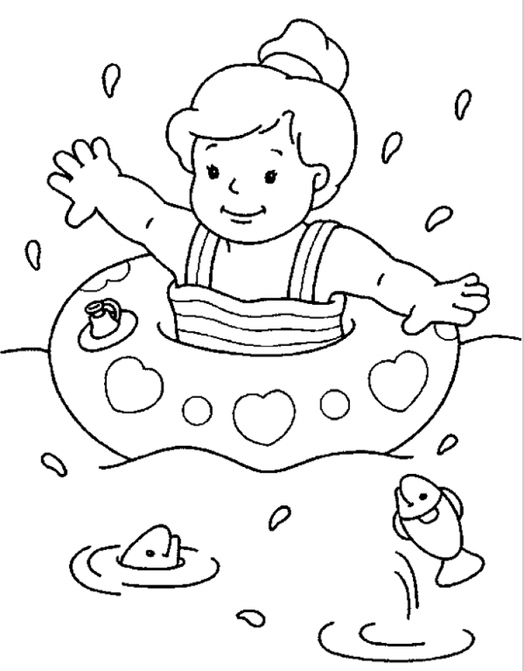 Get This Printable Summer Coloring