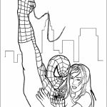 Spiderman Marvel Superhero Coloring Pages Printable   8724
