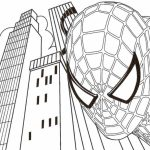 Spiderman Marvel Superhero Coloring Pages Printable   9835
