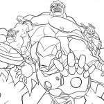 Avengers Coloring Pages printable for kids - 54617