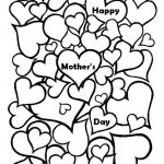 Free Mother's Day Coloring Pages for Adults to Print Out - 77389