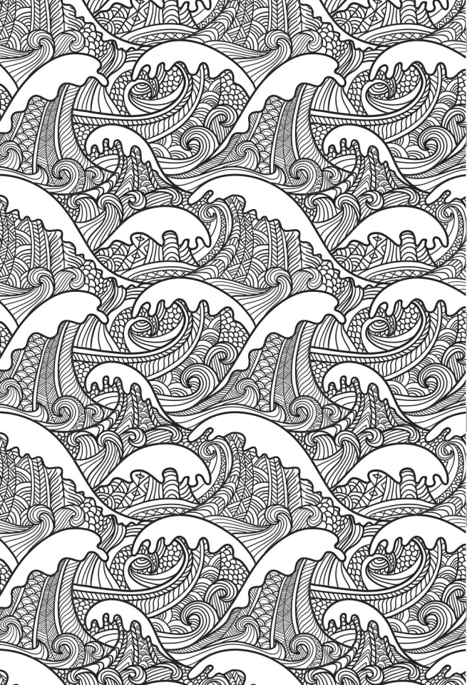 Free Summer Coloring Pages for Adults to Print - 31321