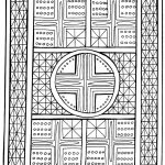 Hard Geometric Coloring Pages to Print Out - 84619