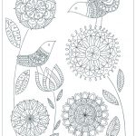 Mother's Day Printable Coloring Pages for Adults - 01291