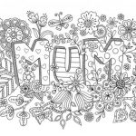 Mother's Day Printable Coloring Pages for Adults - 75011