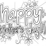 Online Printable Mother's Day Coloring Pages for Adults - 97021