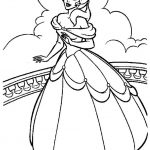 Princess Belle Girls Coloring Pages to Print Online - 35267